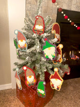 Load image into Gallery viewer, DIGITAL DOWNLOAD : Gnomes in a Row Garland