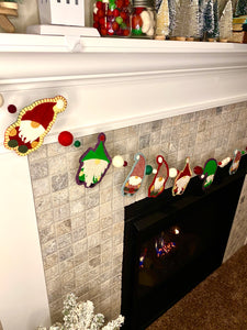 Wool Garland Kit: Gnomes in a Row