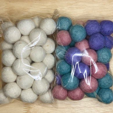 You String: Bunny Hop Wool Balls Only