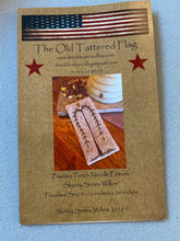 Load image into Gallery viewer, Punch Needle Pattern + Thread Kit - Skinny Series Willow by Old Tattered Flag