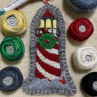 WOOL KIT: Christmas By The Sea - Lighthouse