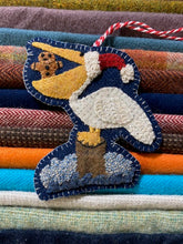 Load image into Gallery viewer, WOOL KIT + Printed Pattern: Christmas By The Sea - Pelican