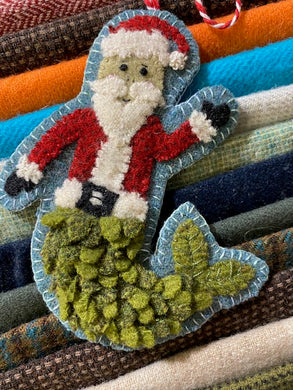 WOOL KIT: Christmas By The Sea - MerSanta