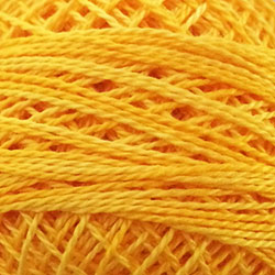 Valdani Perlé Cotton Variegated: O12 - Sunshine Glory - Hattie & Della