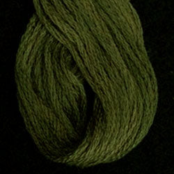 Valdani 6 Strand  Embroidery Floss Variegated: O1901 - Lichen Moss