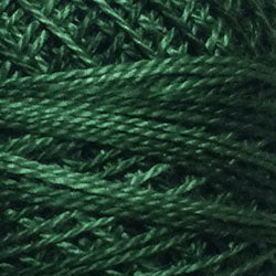 Valdani Perlé Cotton Variegated: O39 - Forest Greens - Hattie & Della