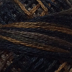Valdani 3 Strand-Floss: O5310 - Withered Black - Limited Edition - Hattie & Della