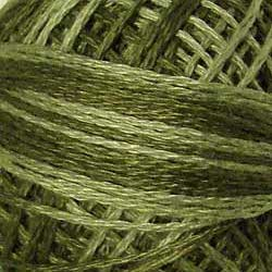 Valdani 3 Strand-Floss: O579 - Faded Olive - dusty olive shades - Hattie & Della