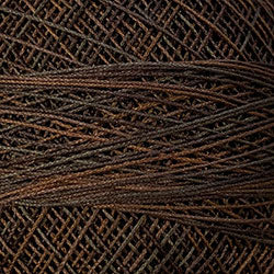 Crochet Cotton-Variegated: P12 - Brown