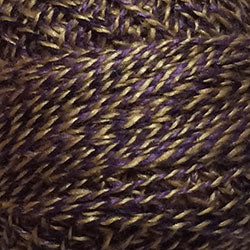 Valdani Perlé Cotton Variegated: PT10 - Purple - Twisted Tweed by J. Paton - Hattie & Della