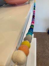 Load image into Gallery viewer, You String - Garland Wool Balls ONLY: A Rainbow of Color