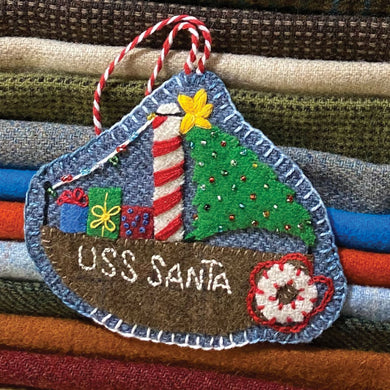 WOOL KIT: Christmas By The Sea - USS Santa