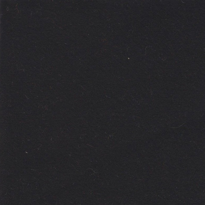 100% Wool Fabric - Amish Black