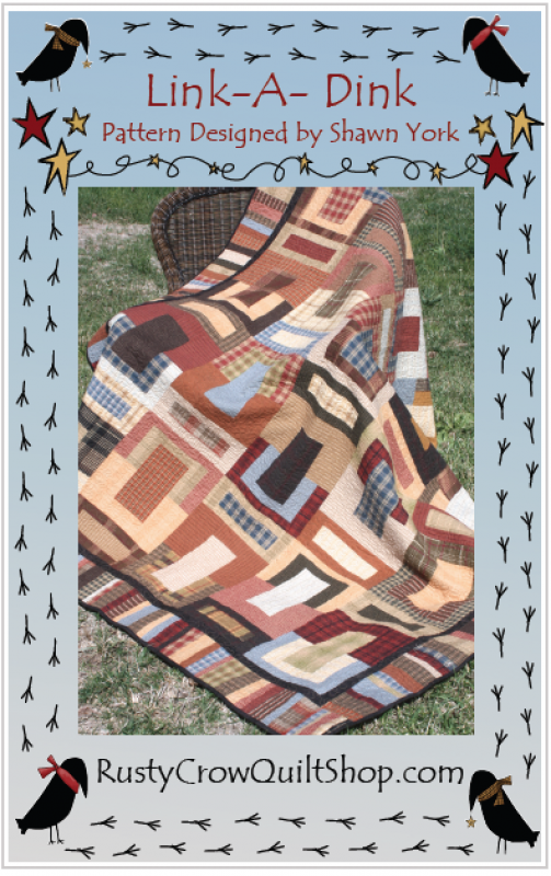 Rusty Crow Pattern - Link-A-Dink