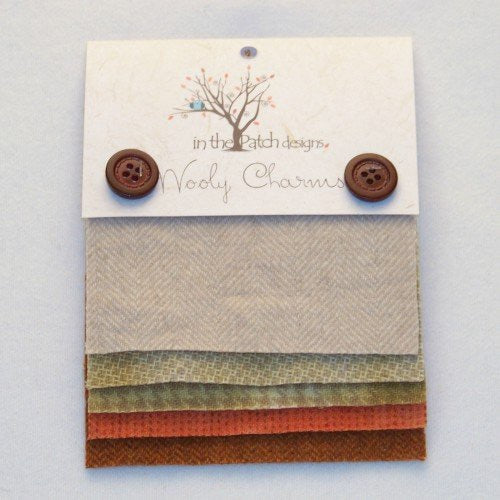 Wooly Charms - Candy Corn