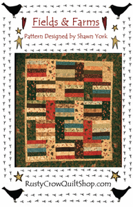 Rusty Crow Pattern - Fields & Farms