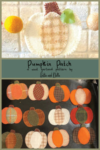 Pumpkin Patch Wool Garland Kit + Threads - Hattie & Della