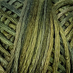 Valdani 6 Strand-Silk Variegated Floss : S50 - Golden Grass
