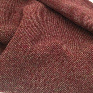 100% Wool Fabric - Rhubarb