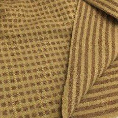 100% Wool Fabric - Stripes & Squares
