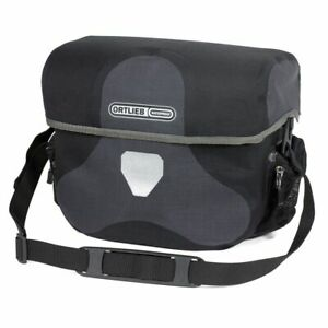 Ortlieb Handlebar Bag Ultimate 6 Plus, Granite Black