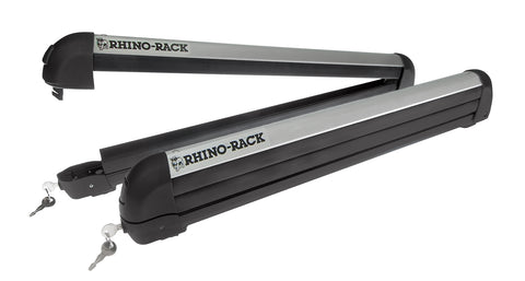 Rhino Rack 566U Ski and Snowboard Carrier-6 Skis or 4 Snowboards