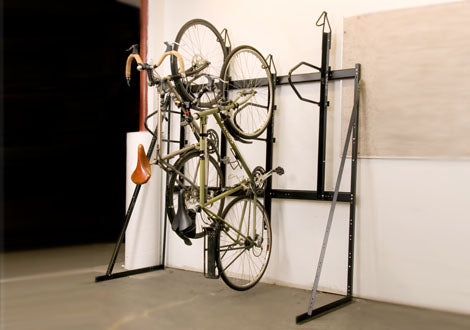 Saris Vertical 3 Bike Locking Wall Rack
