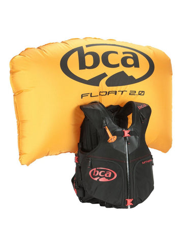 BCA Float Mtn Vest Avalanche Airbag Black/Red