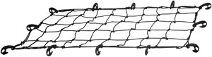 Curt Roof Rack Cargo Net 18201