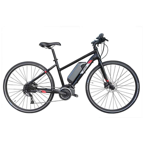Evo e-Bikes Step MD-1 Electric Bicycle, Black
