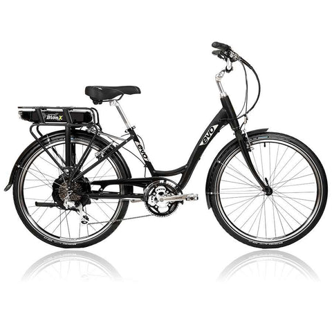 Evo ST1 2016, 26'' Electric Bike 48V x 8.8A Battery, Charcoal