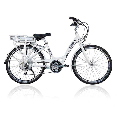 Evo, ST1 2016, 26'' Electric bike, 48V x 8.8A Battery, White