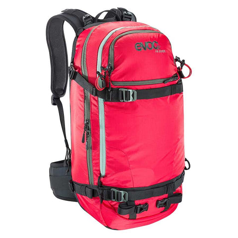 EVOC FR Guide Snow Protector 30L Backpack Red