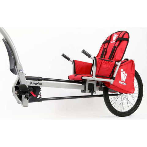 Weehoo iGo Turbo Seat Trailer For BIke, 1 Passenger