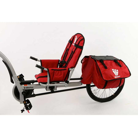 Weehoo iGo Venture Seat Trailer for Bike, 1 Passenger