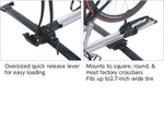 INA383 Inno Fork Lock II Roof Mount Bike Rack