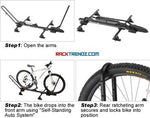 Inno INA389 Tire Hold 2 Roof Mount Bike Rack