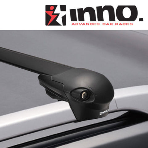 Inno Racks XS100 Aero Base Roof Rack for Lexus RX 350 with Side Rails 2010-2015