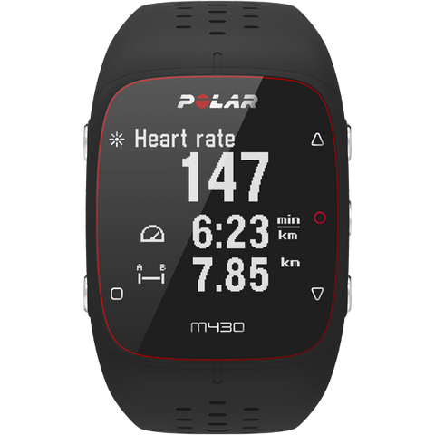 Polar M430 GPS Running Watch Black