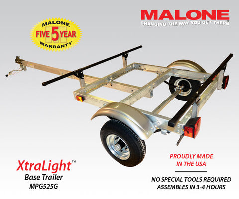 Malone XtraLight Base Trailer MPG525G