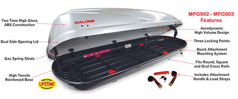 Malone Cargo Carrier 16 MPG902