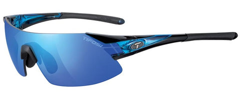 Tifosi Podium XC Sunglasses - Crystal Blue Frame - Interchangeable Lenses