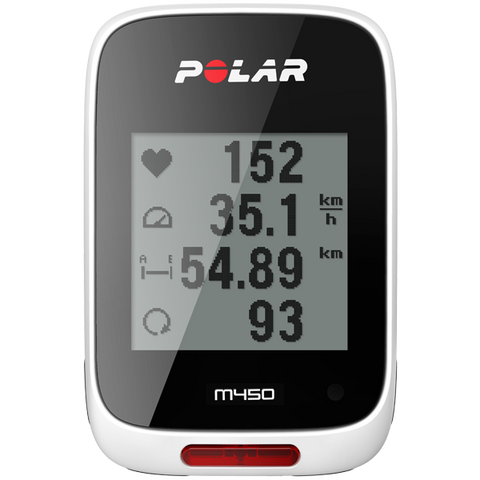 Polar M450 Cycling Computer, H7 Heart Rate Sensor