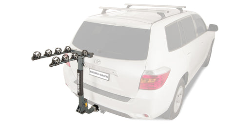 Rhino Rack 2 Arm Hitch Receiver Bike Carrier with Locking Pin