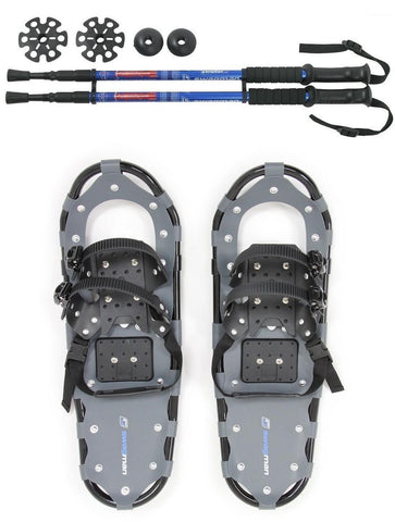 Swagman Proform Snowshoes and Vagabond Trekking Poles Combo