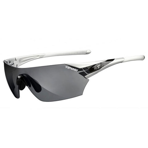 Tifosi Podium Sunglasses - Metallic Silver Frame - Interchangeable Lenses