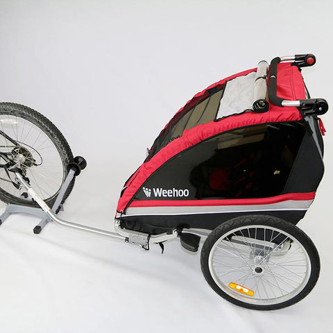 Weehoo Weego Buggy Trailer For Bikes, 1-2 Passenger