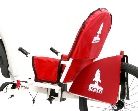 Weehoo iGo Blast Seat Trailer for Bike, 1 Passenger