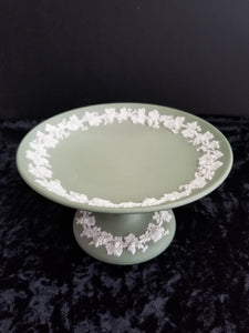 Green Wedgwood Candle Holder