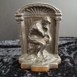 "Antique ""Thinker"" Doorstop (or Bookend)"